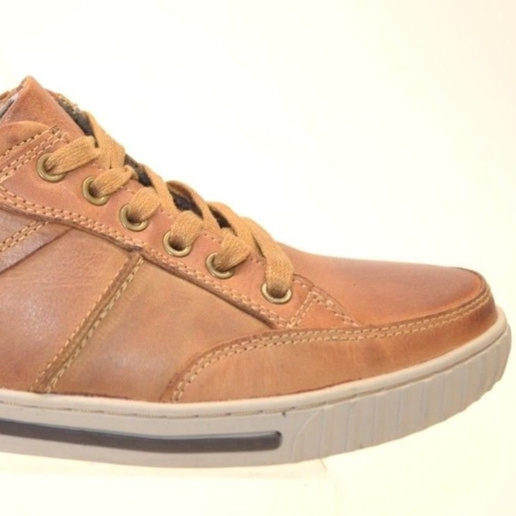 b7a7b88f08d Steve Madden PAXXTIN Men's Leather SNEAKERS 9.5 NWT
